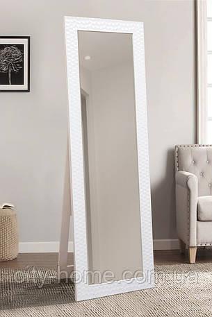 Напольное зеркало в белом цвете 1900х600 мм, фото 2