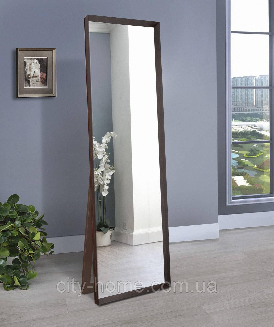 Підлогове дзеркало, венге 1900х600