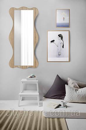 Большое зеркало дуб сонома 1300х600 мм, фото 2