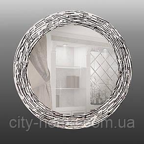 Круглое зеркало с УФ печатью 800 мм, фото 2