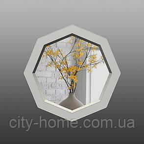 Восьмиугольное зеркало с фацетом ( круглое ) 800 мм, фото 2