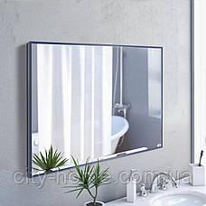Зеркало прямоугольное в полный рост синего цвета, фото 3