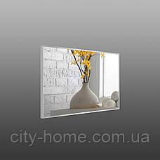 Дзеркало в сірій алюмінієвій рамі, фото 3