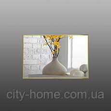 Зеркало в рост золото - хром, фото 3