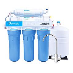 Фильтр обратного осмоса Ecosoft Absolute 6-50M (MO650MECO) с минерализатором
