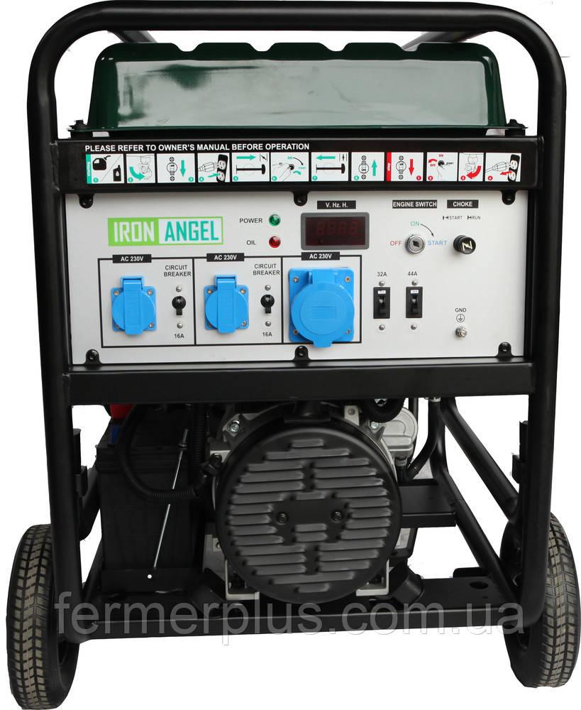 Генератор IRON ANGEL EG12000EА0 + блок автоматики