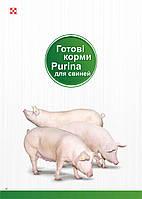 Готовий корм для свиней стартер пуріна® Повнораціонний комбікорм для поросят вагою 10-25 кг мішок 25кг