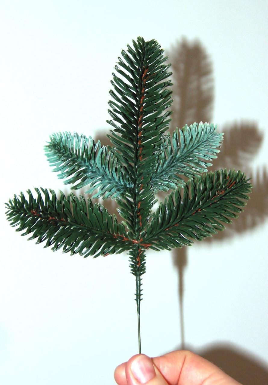 Гілка лита штучна зелена №7/-500шт