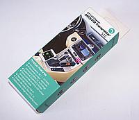 Автомобильный FM-модулятор CM-S16BL+BT, трансмиттер c Bluetooth, AUX, 2 USB, microSD/TF, фото 1