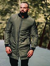 Мужская куртка ветровка оливкового цвета, Турция