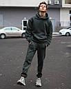 Спортивные штаны мужские в цвете хаки База от бренда ТУР,размер: XS, S, M, L, XL, фото 2