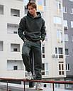 Спортивные штаны мужские в цвете хаки База от бренда ТУР,размер: XS, S, M, L, XL, фото 3
