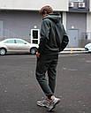 Спортивные штаны мужские в цвете хаки База от бренда ТУР,размер: XS, S, M, L, XL, фото 4