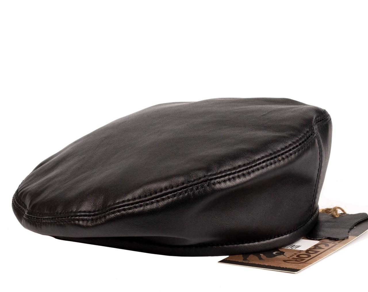 Берет мужской кожаный PICADOR черный