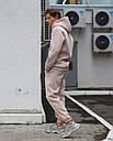 Спортивные штаны мужские бежевые База от бренда ТУР, размер: XS, S, M, L, XL, фото 3