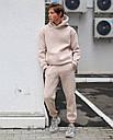Спортивные штаны мужские бежевые База от бренда ТУР, размер: XS, S, M, L, XL, фото 4