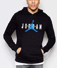 Мужская толстовка худи Джордан с капюшоном, трикотажная