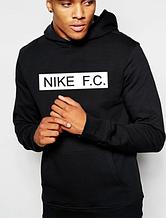 Чоловіча толстовка (худі) Найк (Nike) з капюшоном Турецький трикотаж (весна/літо/осінь/зима) копія