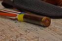 """Нож ручной работы """"Гильза"""" 130х30х4мм с ручкой из гильзы, фото 3"""