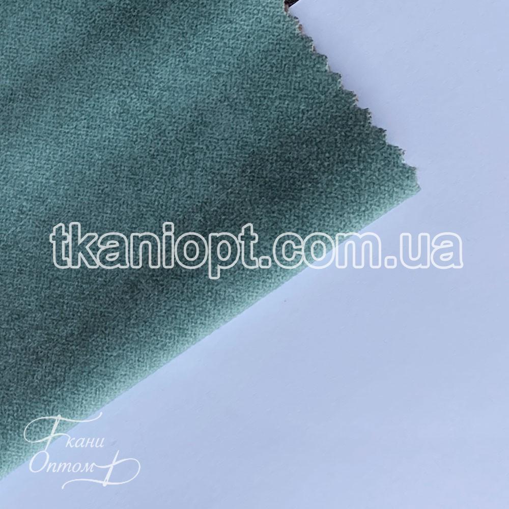 Ткань Микофибра с начесом teddy (бирюза)