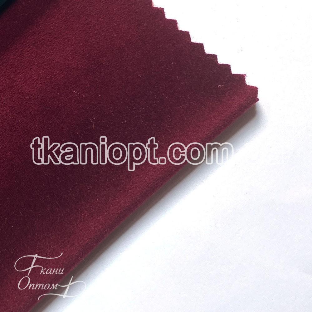Ткань Микрофибра с начесом van cleef (бордовый)