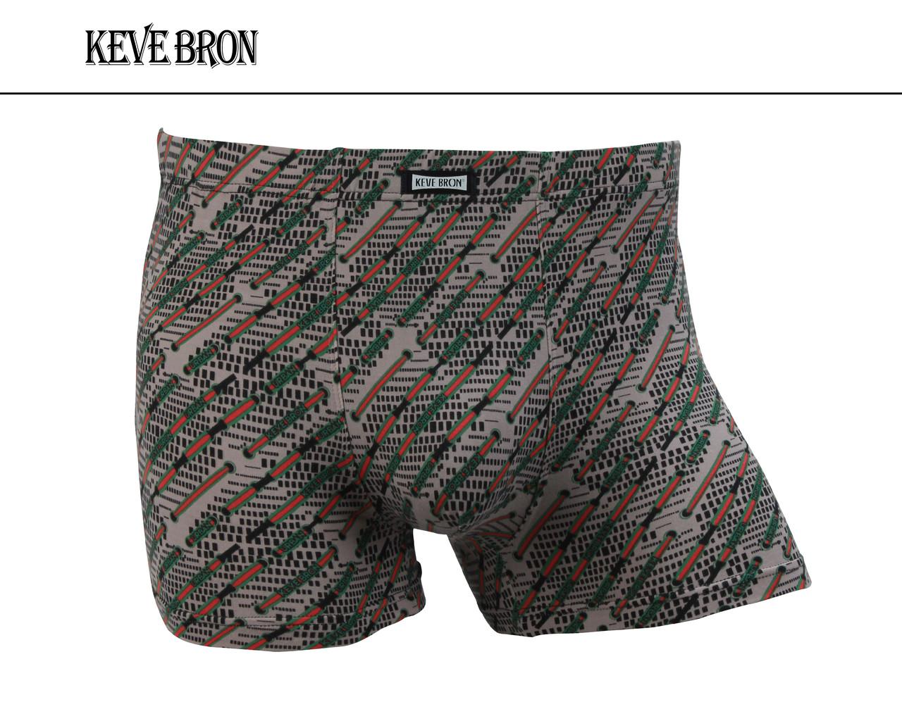 Мужские трусы боксеры KEVEBRON (XL-4XL)  Арт.KV09025