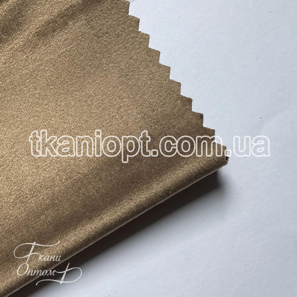 Ткань Велюр на тканевой основе broadway (капучино)