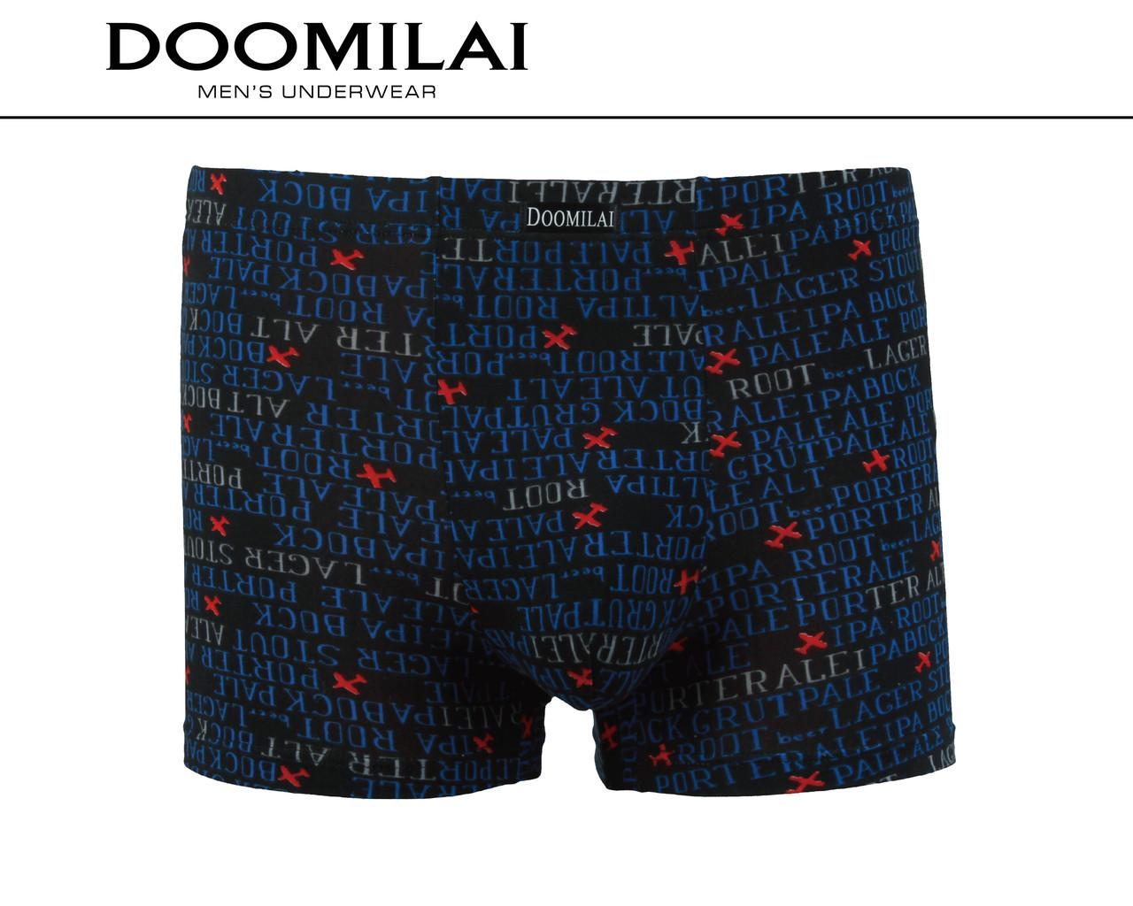 Мужские боксеры стрейчевые из бамбука «DOOMILAI» Арт.D-01410