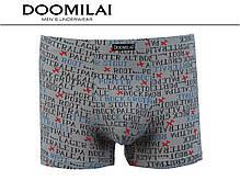 Мужские боксеры стрейчевые из бамбука «DOOMILAI» Арт.D-01410, фото 2