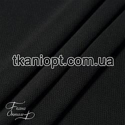 Ткань Микролакоста (черный)