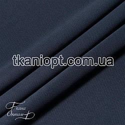 Ткань Микролакоста (темно-синий)