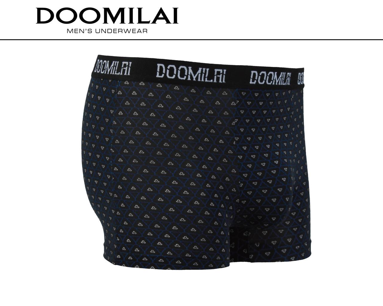 Чоловічі боксери стрейчеві з бамбука «DOOMILAI» Арт.D-01413