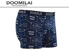 Мужские боксеры стрейчевые из бамбука «DOOMILAI» Арт.D-01414