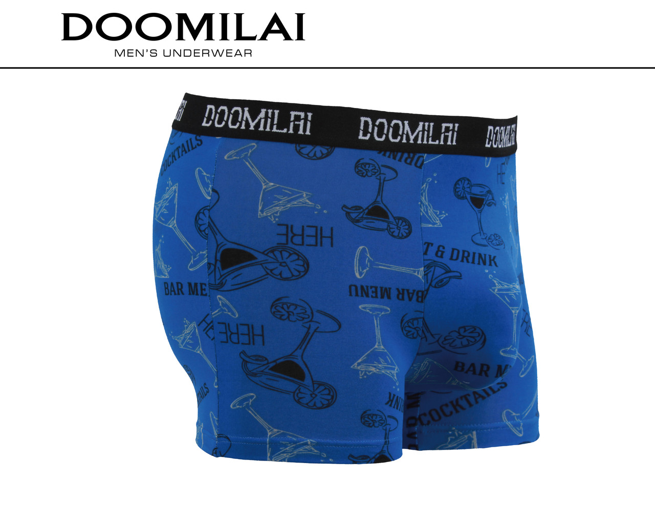 Мужские боксеры стрейчевые из бамбука «DOOMILAI» Арт.D-01422