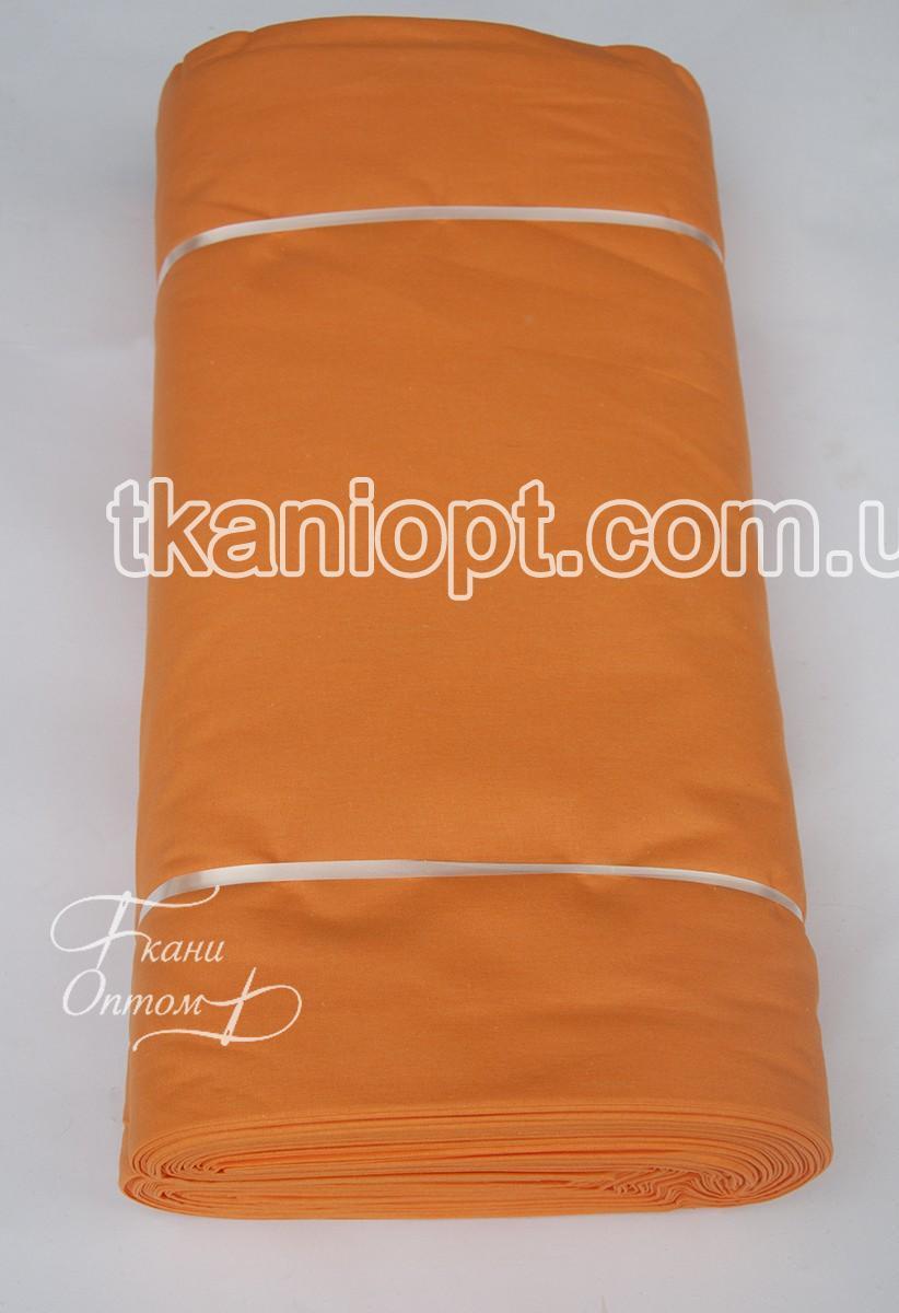 Ткань Ткань ранфорс premium Турция - оранжевый k3 (220 ширина)