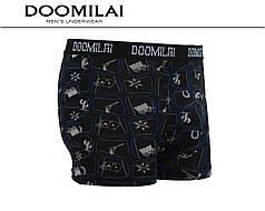 Чоловічі боксери стрейчеві з бамбука «DOOMILAI» Арт.D-01425