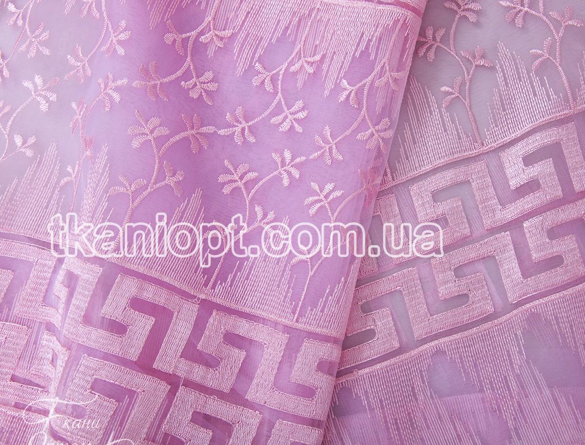 Ткань Ткань декоративная - Органза вышивка ТК0033