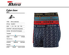 Мужские стрейчевые боксеры «INDENA»  АРТ.95051, фото 2