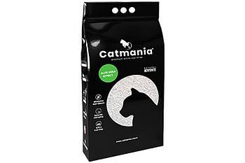 Наполнитель для котов CATMANIA алое вера + зеленые гранулы,  5 л
