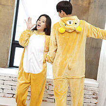 Пижама кигуруми медведь Рилаккума, кигуруми пижама Рилаккума