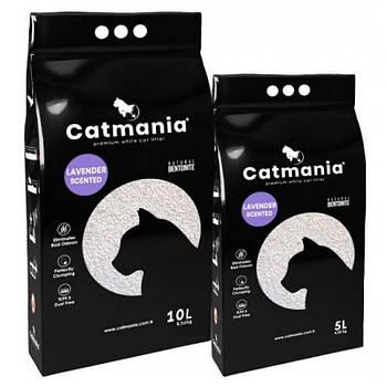 Бентонитовый наполнитель для котов CATMANIA лаванда,  5 л
