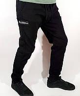 Джинсы мужские черные на манжете