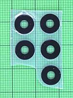 Стекло камеры Nomi i284 черное Оригинал