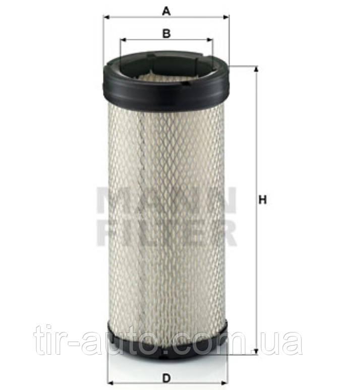 Фильтр воздушный Caterpillar ( вторичный ) ( MANN ) CF 1574
