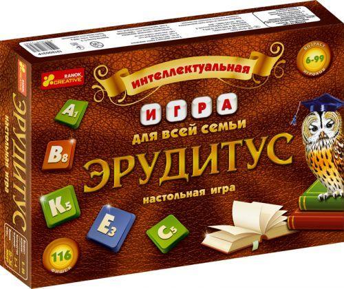 """Настольная игра """"Эрудитус"""" 12120031Р"""