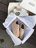 Женские кроссовки Alexander Mcqueen бежевые (копия), фото 3