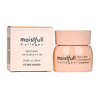 Etude House Moistfull Collagen Eye Cream Зволожуючий крем з колагеном для шкіри навколо очей, 28 мл