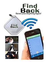 Брелок для поиска ключей с Bluetooth Find Back , брелок Файнд Бек