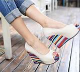 Босоножки на платформе ShoeStyle ss589, фото 3