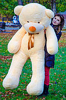 Большой плюшевый мишка 200 см, персиковый мягкий медведь, подарок для девушки на день рождения